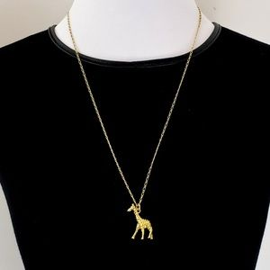 NWOT! J. Crew Necklace Giraffe Pendant Charm